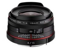 Объектив Pentax 15mm f/4.0 HD DA ED AL Limited black