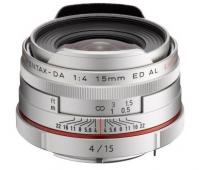 Объектив Pentax 15mm f/4.0 HD DA ED AL Limited silver