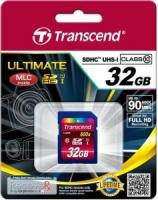 Карта памяти SDHC Transcend 32Gb UHS-I Ultimate 90Mb/s class 10 (TS32GSDHC10U1)