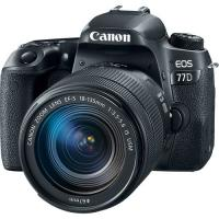Фотоаппарат Canon EOS 77D kit 18-135 IS Nano USM