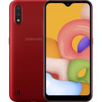 Смартфон Samsung Galaxy A01 (A015F) 2/16GB Dual SIM Red