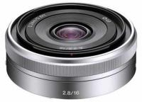 Объектив Sony 16mm f/2.8 E-mount (SEL16F28.AE)