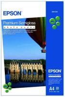 Фотобумага Epson A4 Premium Semigloss Photo Paper C13S041332 20л